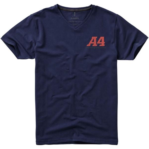 "Camiseta orgánica de manga corta para hombre ""Kawartha"" - Azul Marino / XXL"