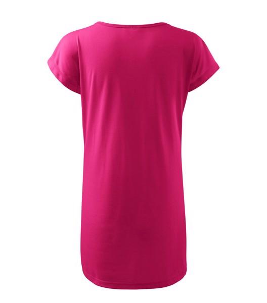 Tričko/šaty dámské Malfini Love - Purpurová / XS