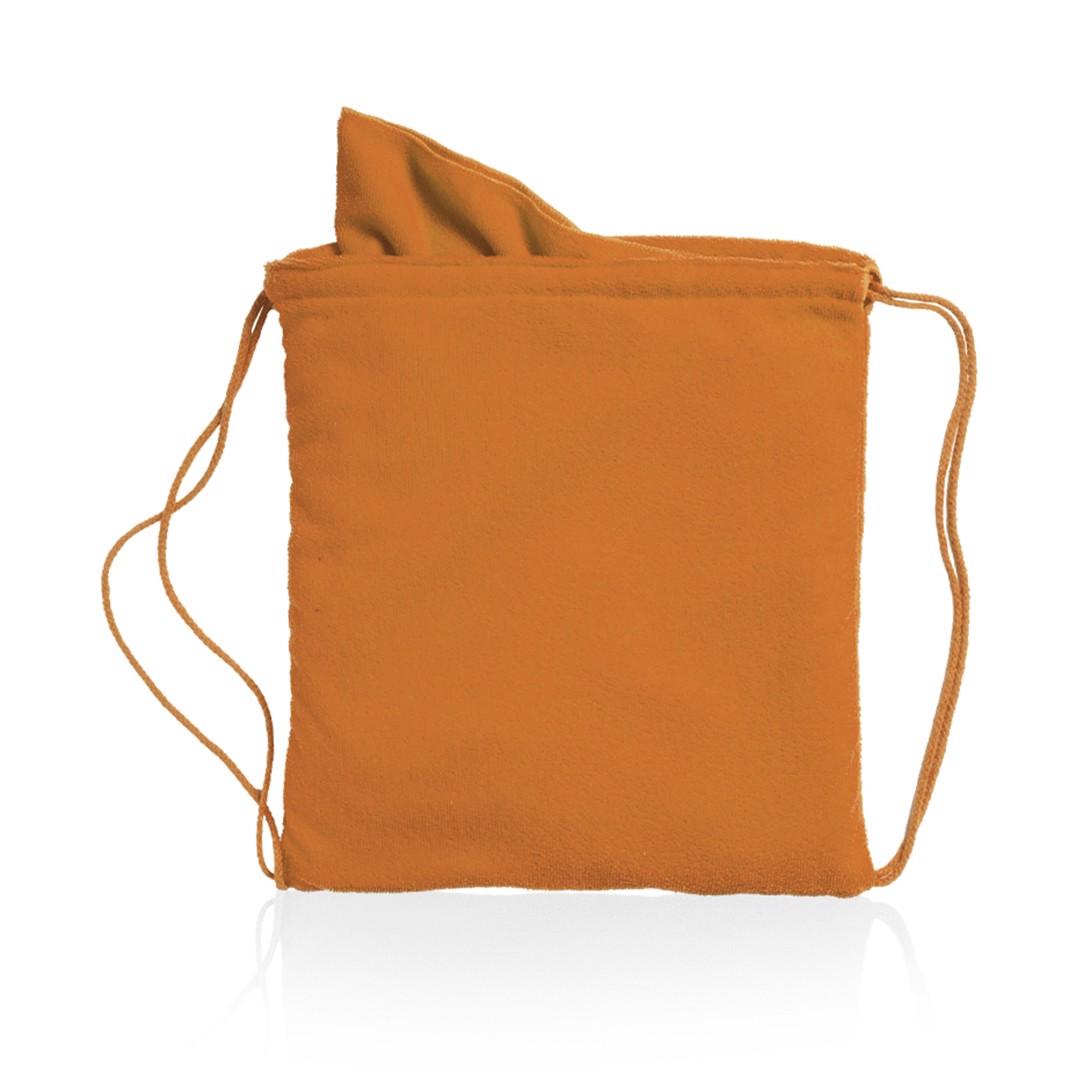 Drawstring Towel Bag Kirk - Orange