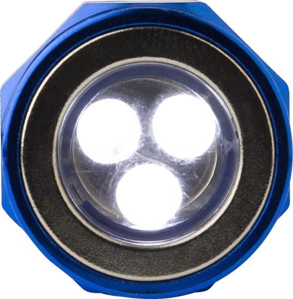 Aluminium torch - Cobalt Blue