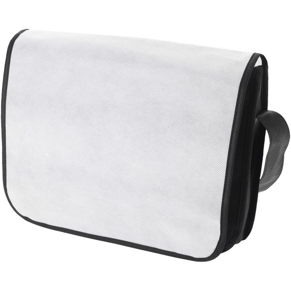 Mission messenger bag - White