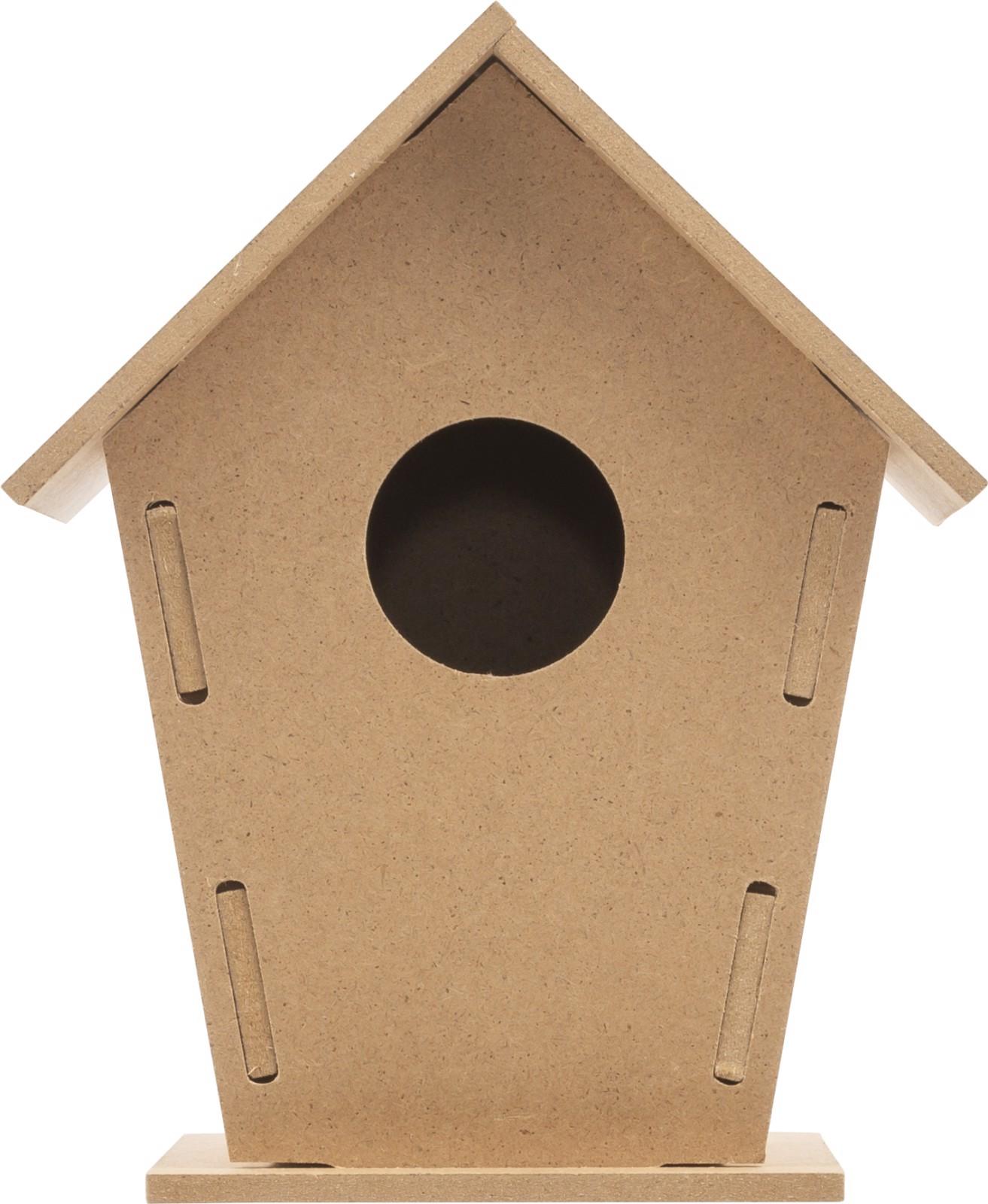 Kit de casa para pájaros, de MDF