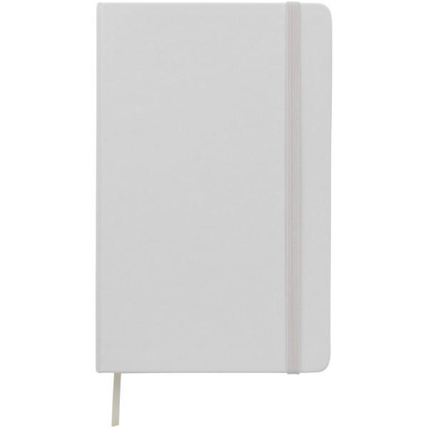 Classic L hard cover notebook - plain - White