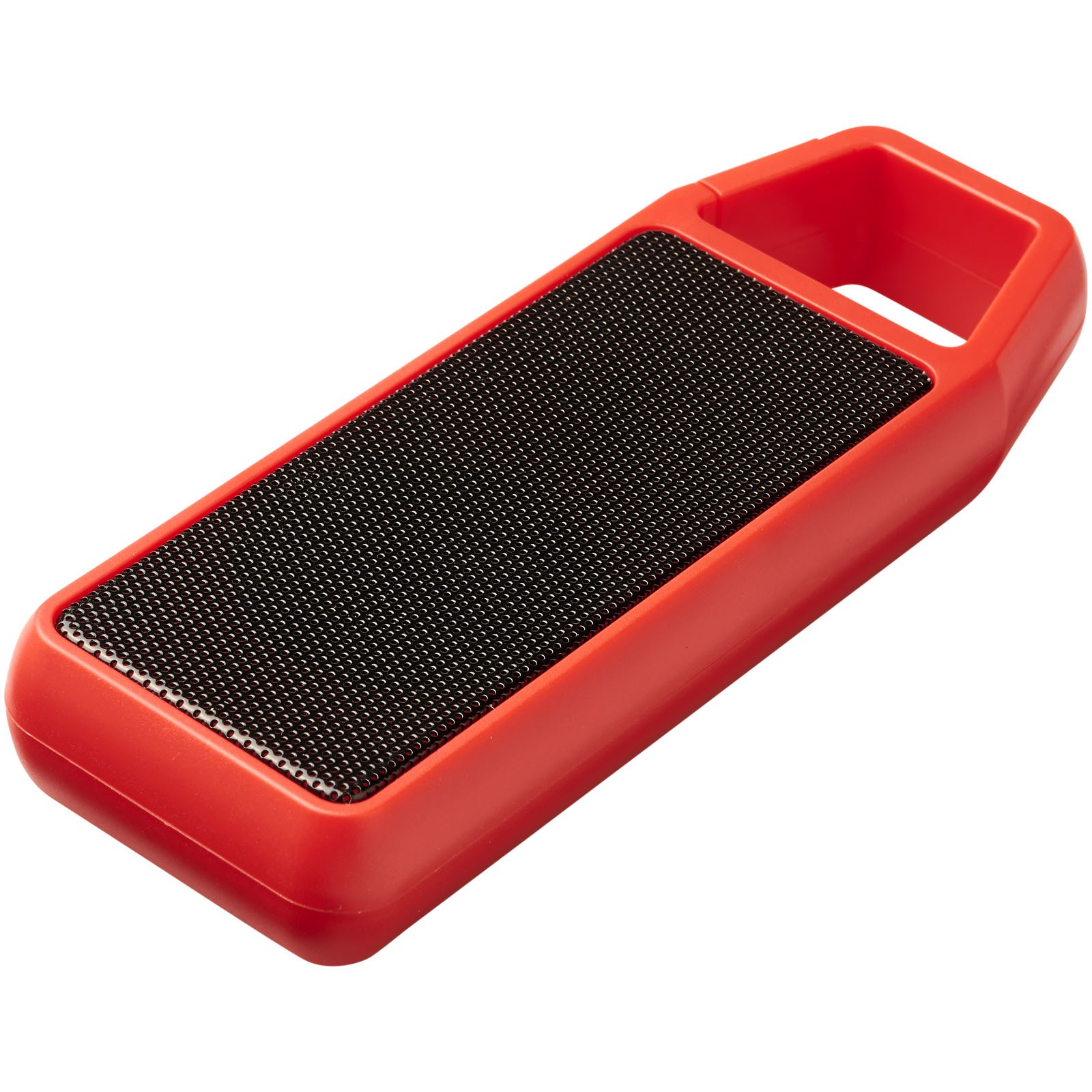 Bluetooth® reproduktor Clip-Clap - Červená s efektem námrazy
