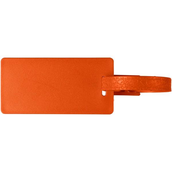 Štítek na zavazadla s okénkem River - 0ranžová
