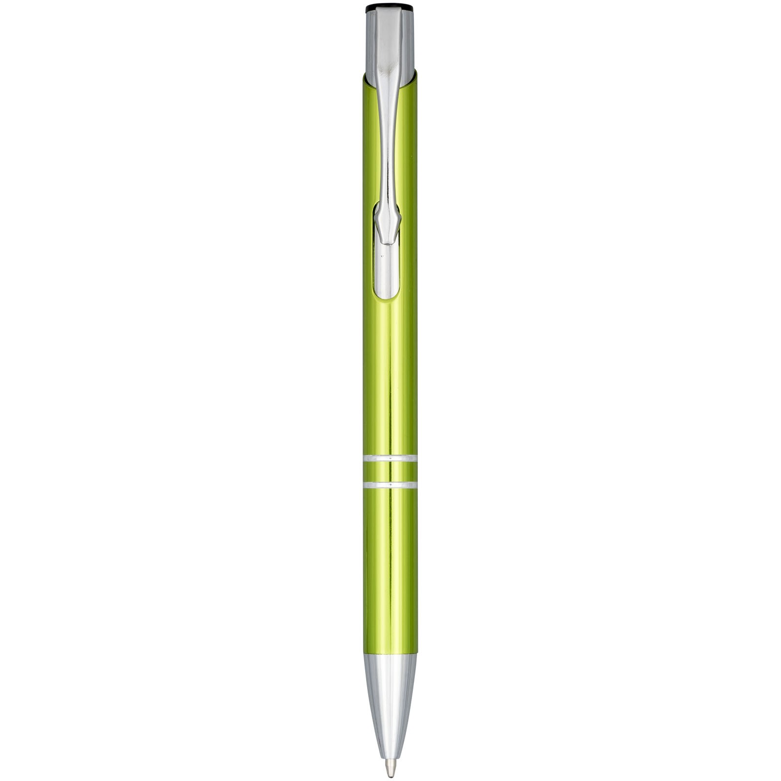 """Bolígrafo de aluminio anodizado """"Moneta"""" - Lima"""