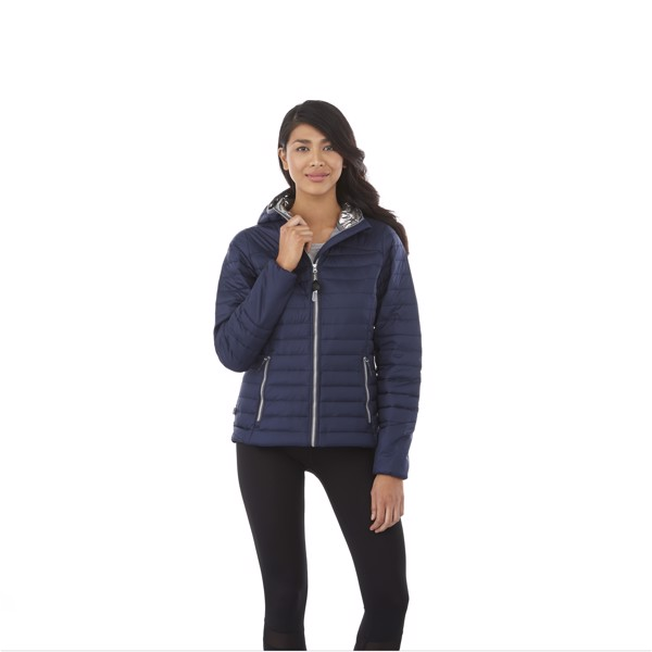 Silverton women's insulated packable jacket - Navy / L