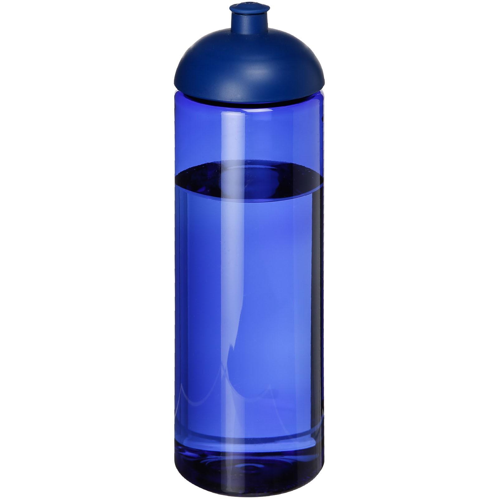 H2O Vibe 850 ml sportovní lahev s kupolovitým víčkem - Modrá