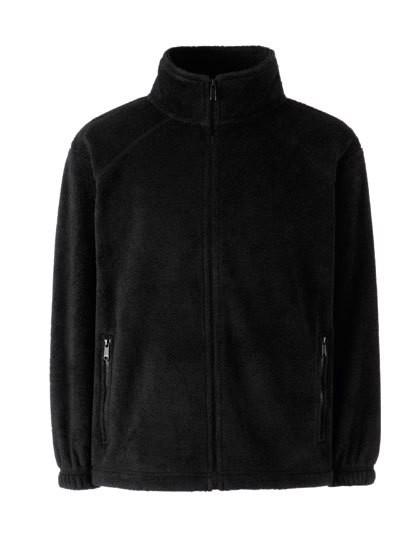 Full Zip Fleece Jacket Kids - Black / 164