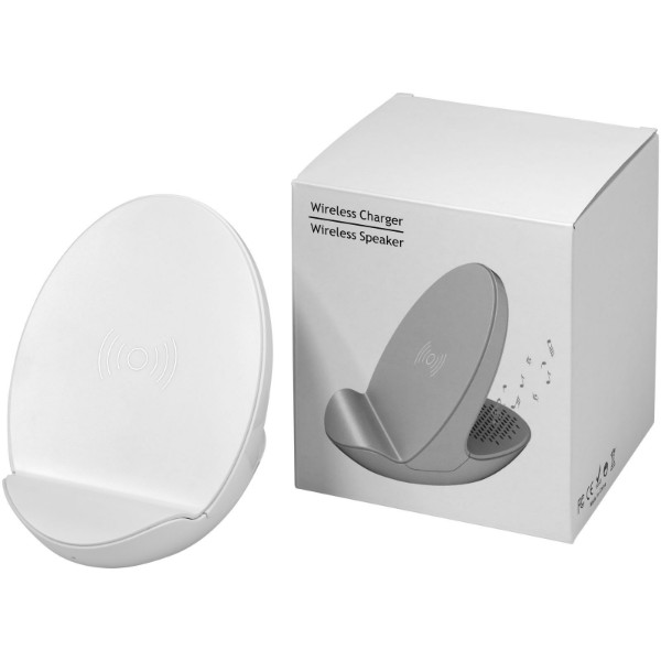 S10 Bluetooth® 3-function speaker - White Solid