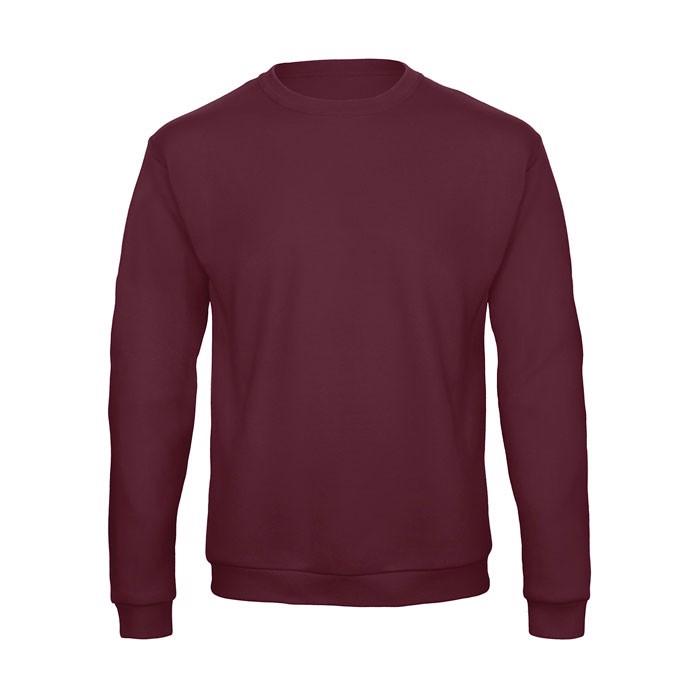 Sweatshirt Unisex Id.202 50/50 Sweatshirt Unisex - Burgundy / L