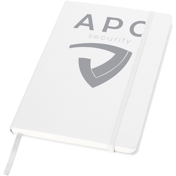Classic A5 hard cover notebook - White