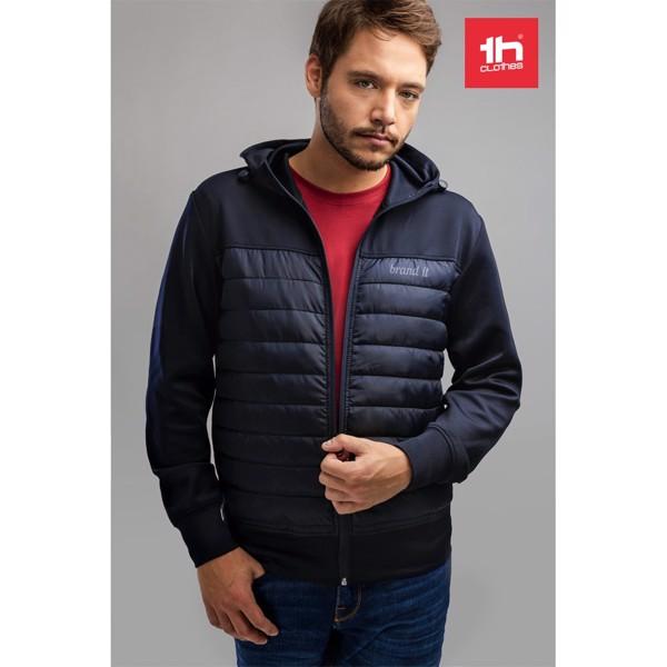 THC SKOPJE. Men's hooded jacket - Navy Blue / XXL