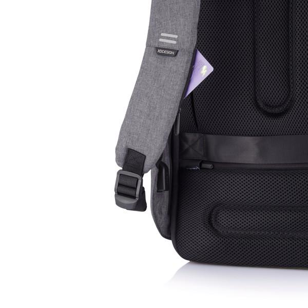Bobby Hero XL lopásbiztos hátizsák - Szürke / Fekete