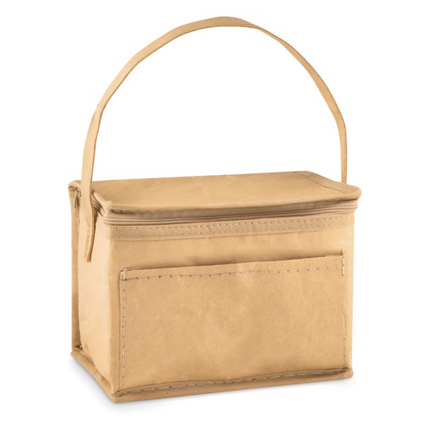 6 can woven paper cooler bag Papercool