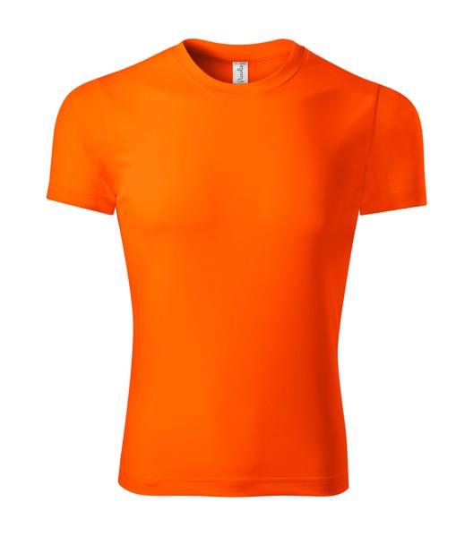 Tričko unisex Piccolio Pixel - Neon Orange / 3XL