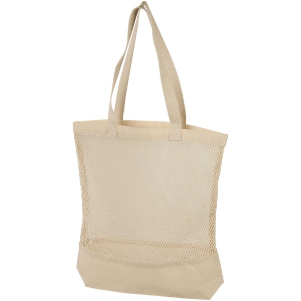 Maine mesh cotton tote bag