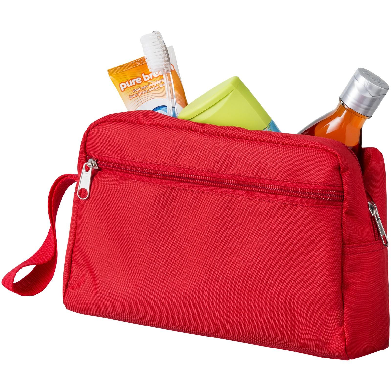 Transit toiletry bag - Red