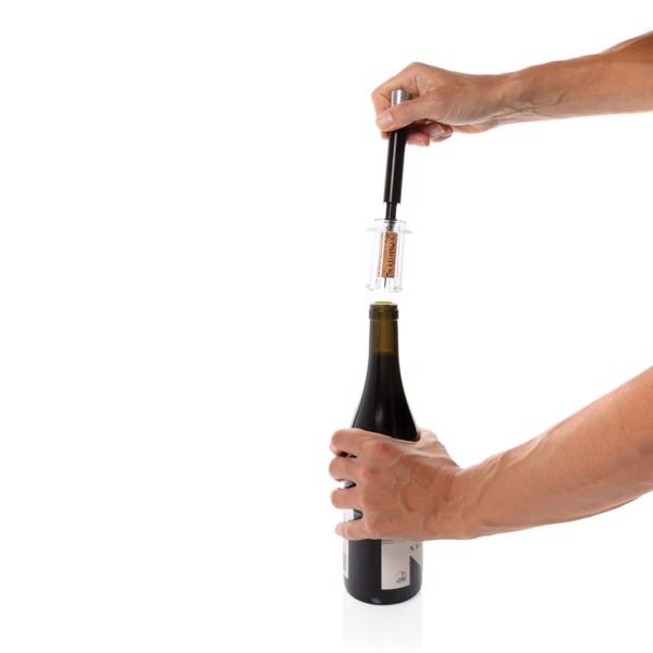 Vino Deluxe metal air pressure pump opener