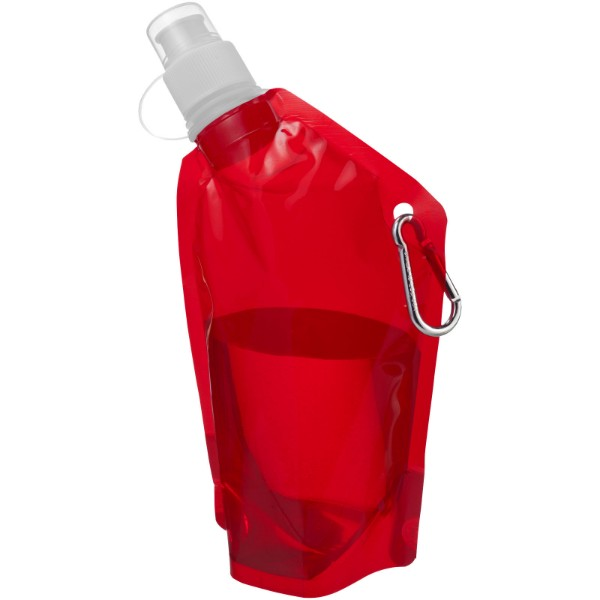 Cabo 375 ml mini water bag with carabiner