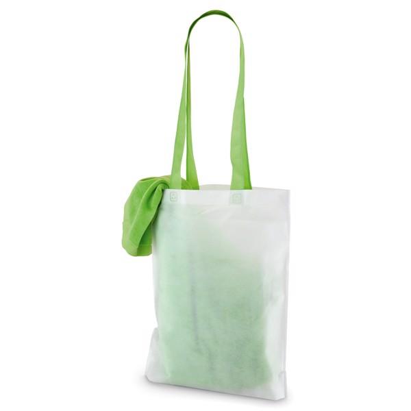 SARDEGNA. Beach towel - Light Green