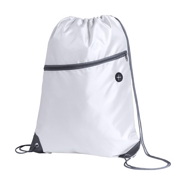 Drawstring Bag Blades - White