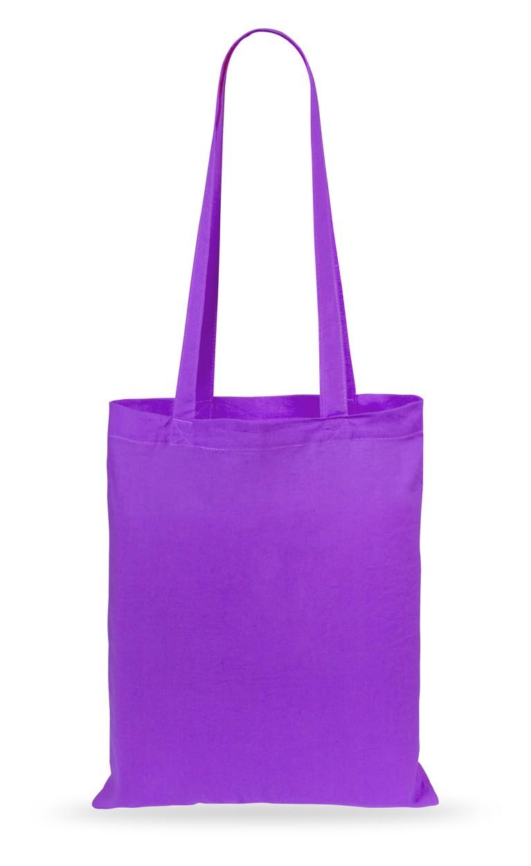 Cotton Shopping Bag Turkal - Purple