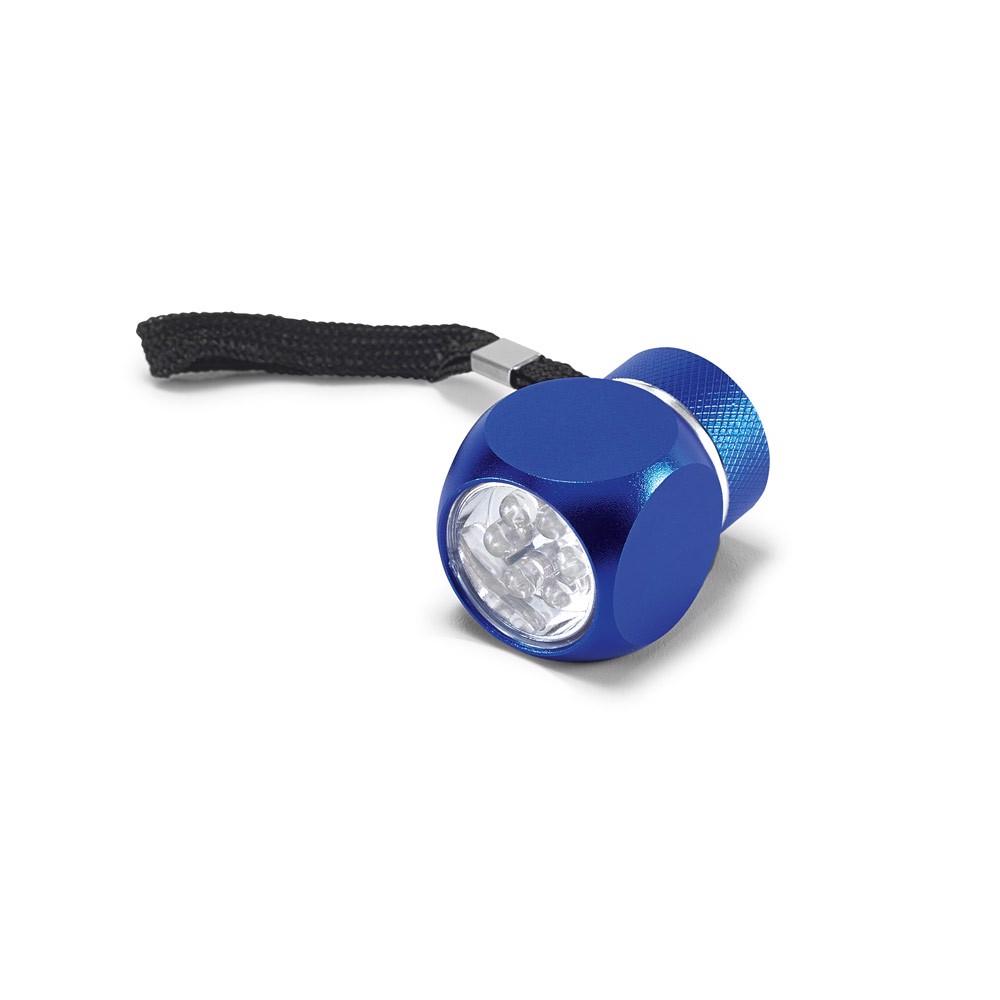 LOUIS. Torch in aluminium - Royal Blue