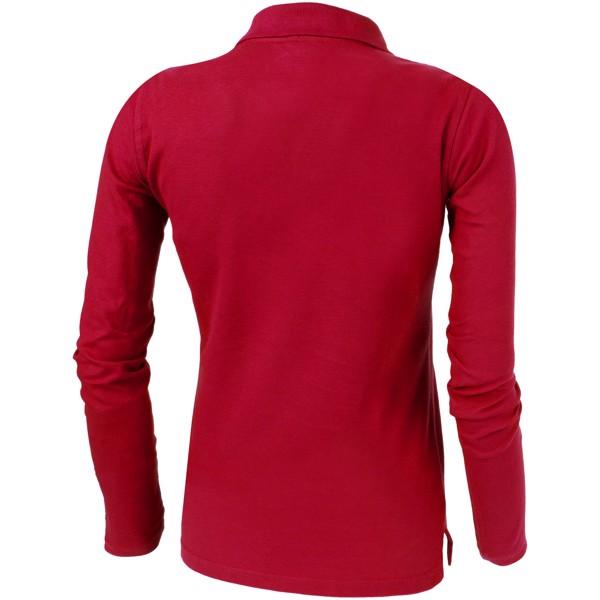Dámská polokošile Point s dlouhým rukávem - Červená s efektem námrazy / XL