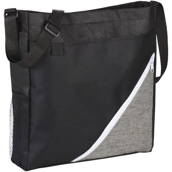 Konferenční taška Corner - Černá / Bílá