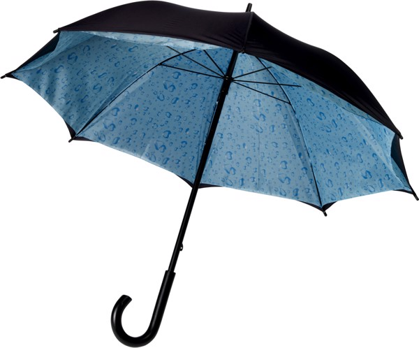 Nylon (190T) umbrella - Blue
