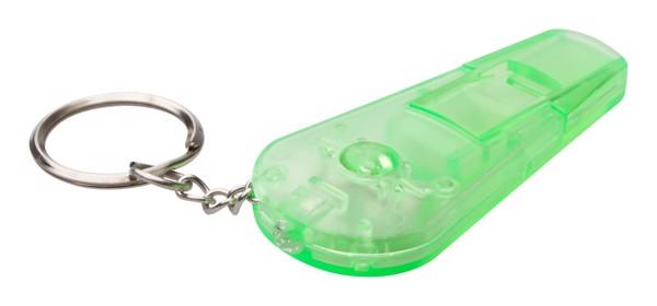 Přívěšek Na Klíče S Píšťalkou Coach - Zelená
