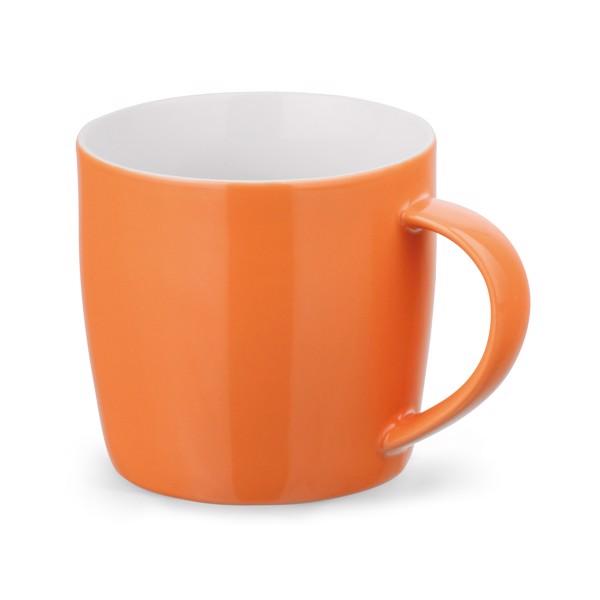COMANDER. Keramický hrnek 370 ml - Oranžová