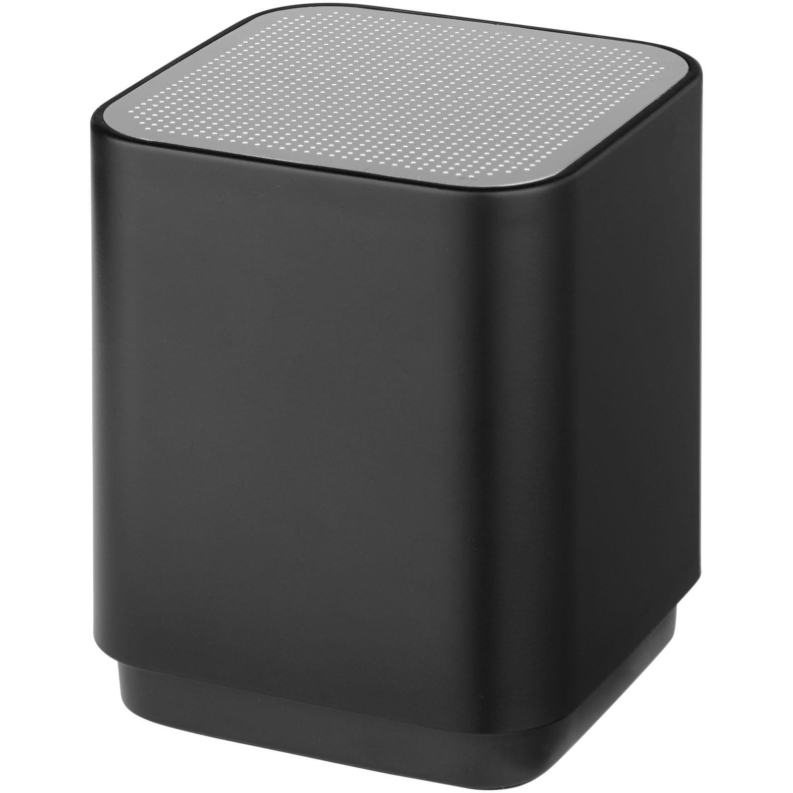 Beam light-up Bluetooth® speaker - Solid Black