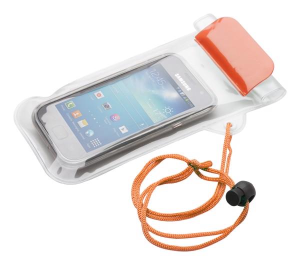 Voděodolný Obal Na Mobil Waterpro - Oranžová / Průhledná