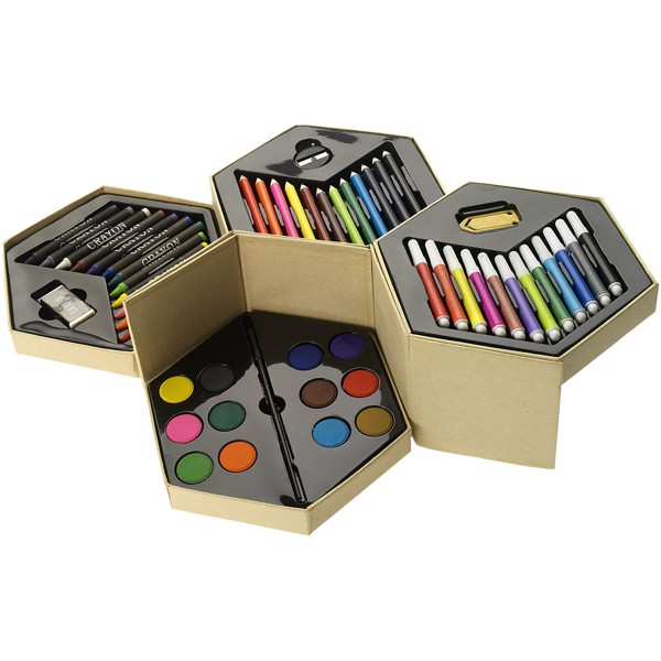 Pandora 52-piece colouring set