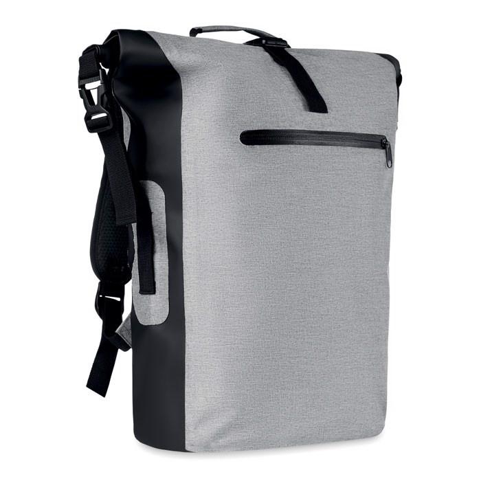 Nieprzemakalny plecak Scuba Bag - biały/szary