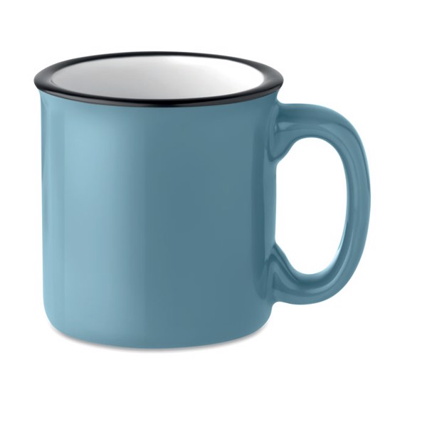 Ceramic vintage mug 240 ml Tweenies - Blue
