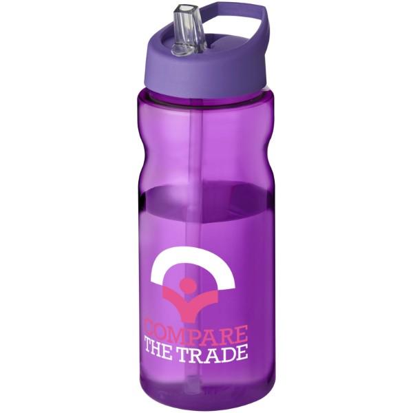 H2O Base® 650 ml spout lid sport bottle - Purple