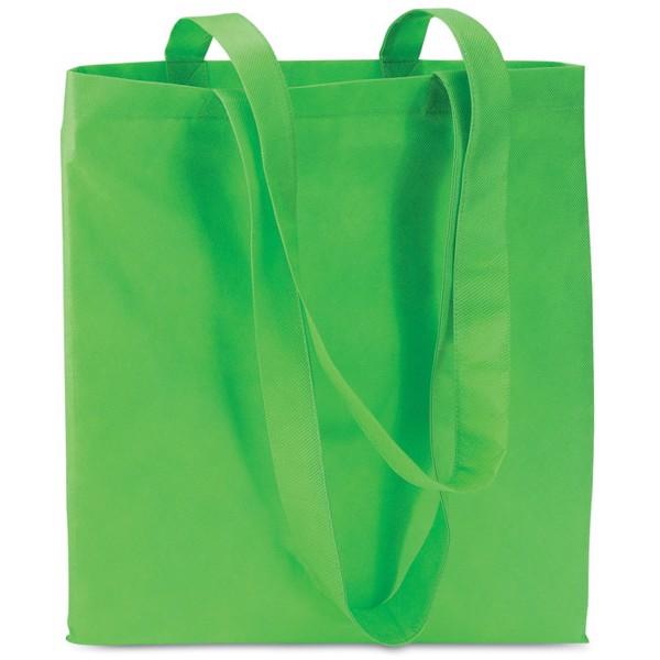 Shopping bag in nonwoven Totecolor - Green