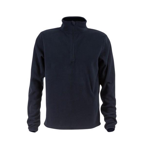 THC VIENNA. Unisex fleecová bunda - Námořnická Modrá / XL