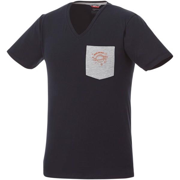 Gully pánské pocket tričko s krátkým rukávem - Navy / Sport Grey / XXL