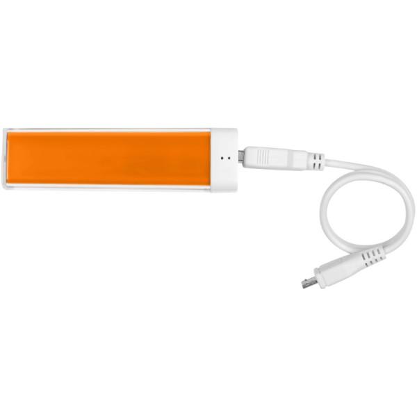 """Batería externa de 2200mAh """"Flash"""" - Naranja"""
