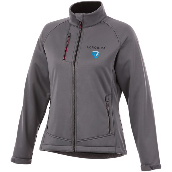 Chuck women's softshell jacket - Grey / S