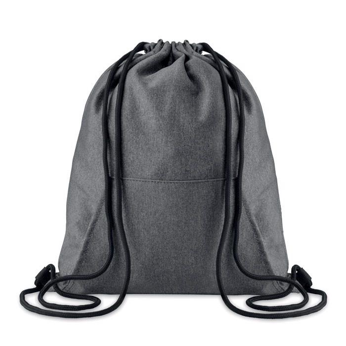 Plecak ze sznurkiem Sweatstring - czarny