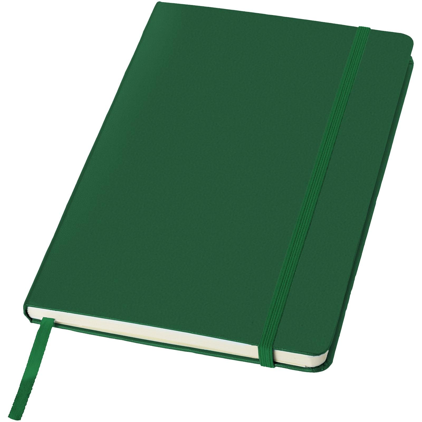 Classic A5 Hard Cover Notizbuch - jagdgrün