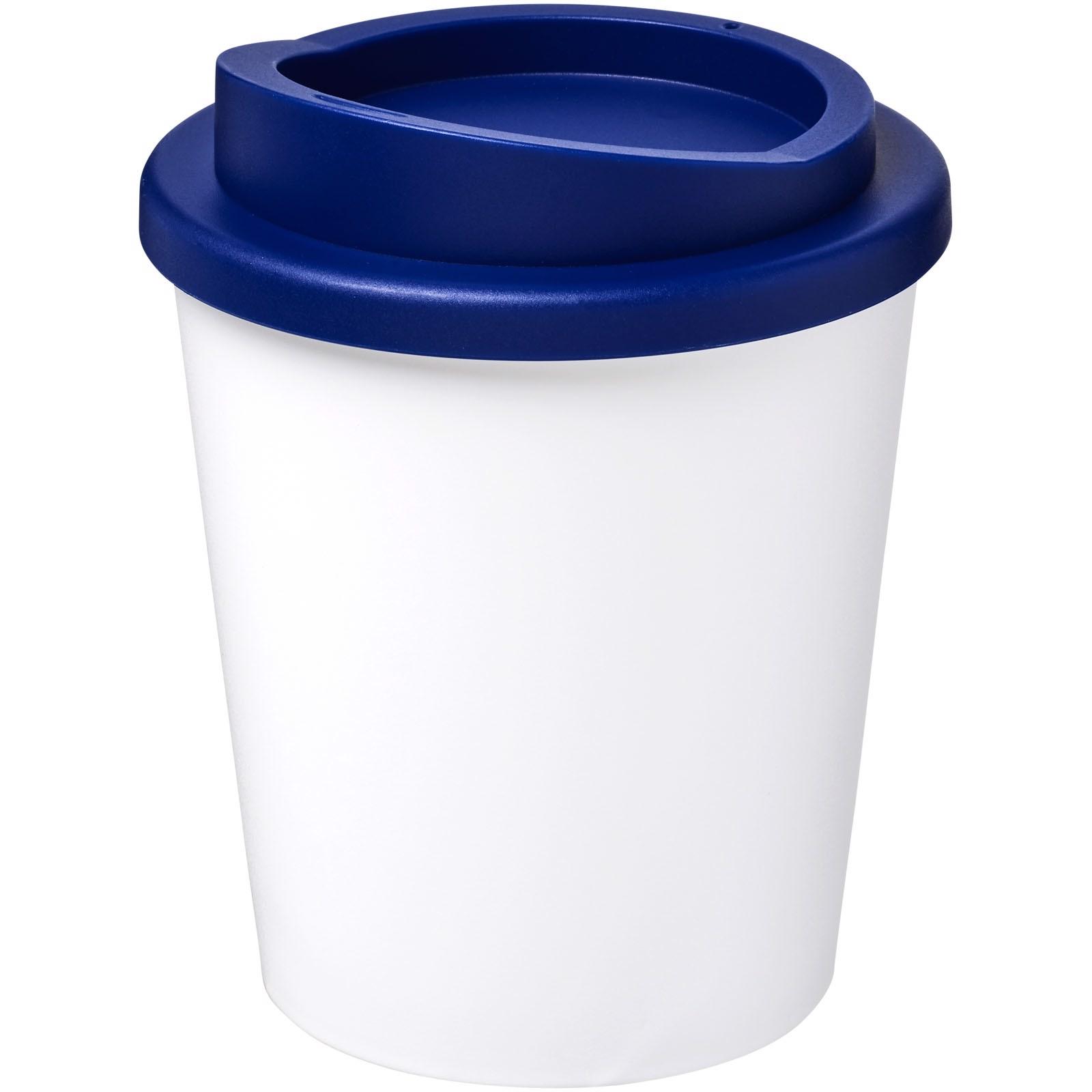 Americano® Vaso térmico Espresso de 250 ml - Blanco / Azul