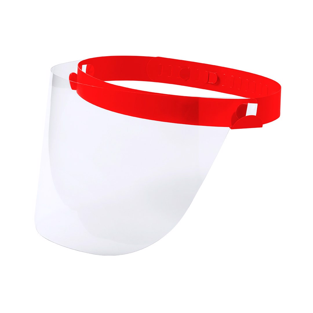 Pantalla Facial Niño Tundex - Rojo