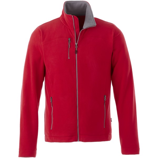 Pitch microfleece jacket - Red / M