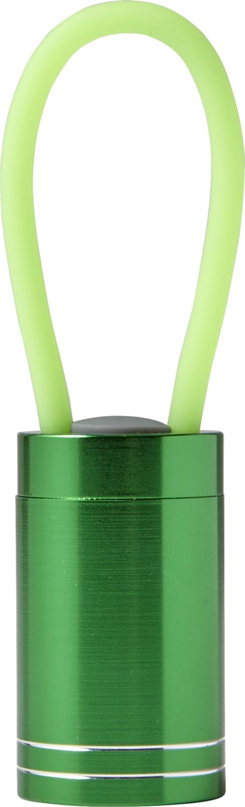 Aluminium torch - Light Green